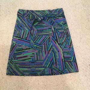 Etcetera wrap skirt